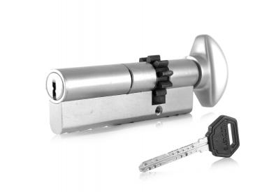 Ключалка двустранна със секрет L 52 със зъбно колело и ръкохватка