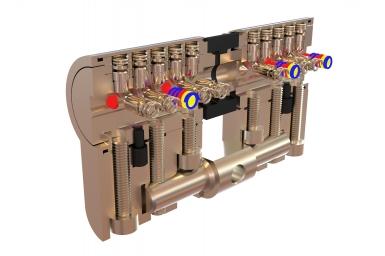 Това е ключалка с вграден микро магнитен елемент. Това е ключалка от  висок клас.